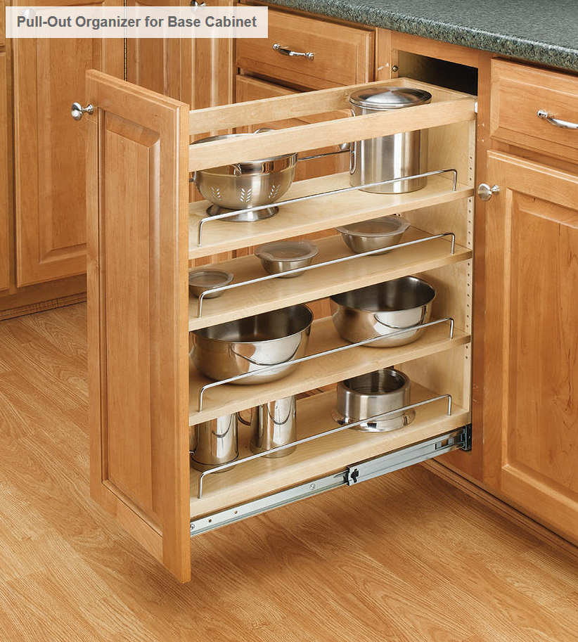 Pull Out Base Organizer